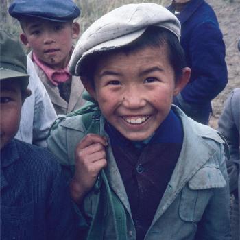 Kazakh boys