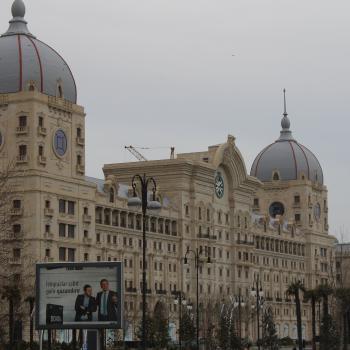 Architecture in Baku City Centre