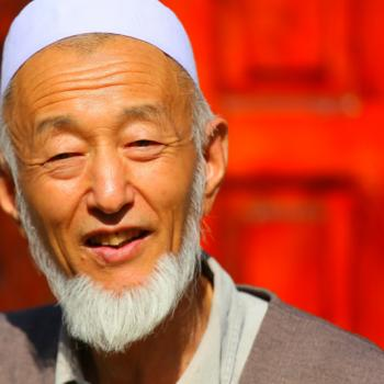 A man of Donggan Nationality