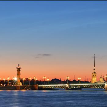 St Petersburg skyline